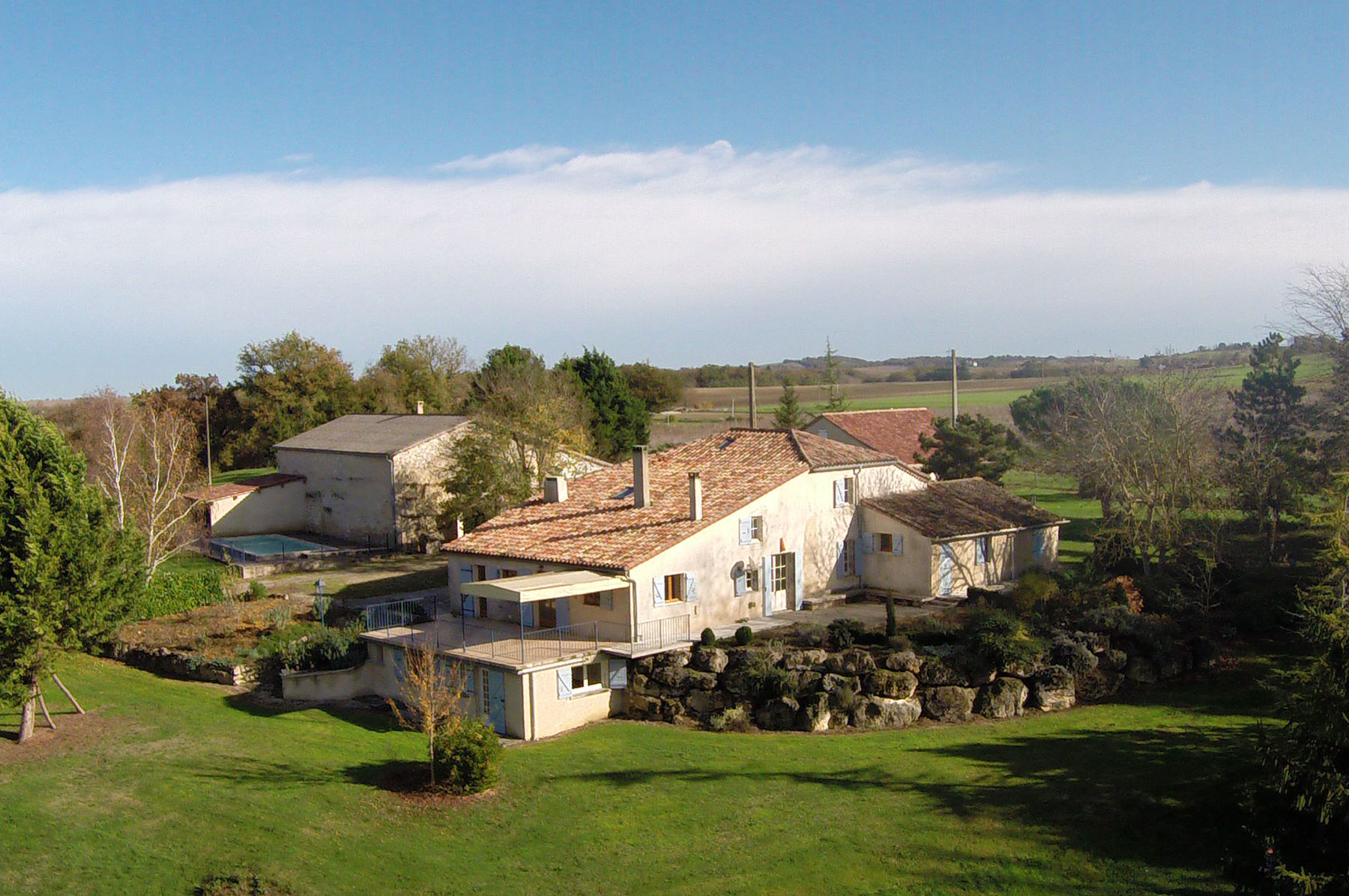 Restored Stone Farmhouse with Stunning Views on 6.5 hectares